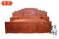 东阳鲁创红木家具厂家直销山水大床/步步高大床/园林风光大床
