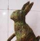 供应复活节园艺藤编兔子